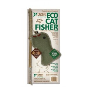 Natural Fish Cat Toy - ECO CAT FISHER